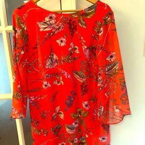 Women's size 12 floral shift dress